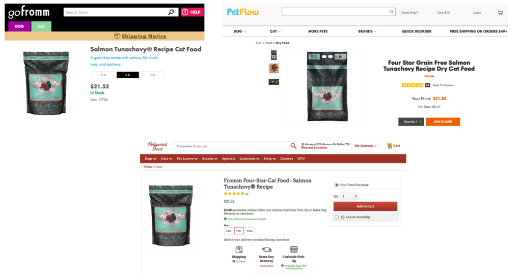 Fromm Tunachovy Cat Dry Food at retailers